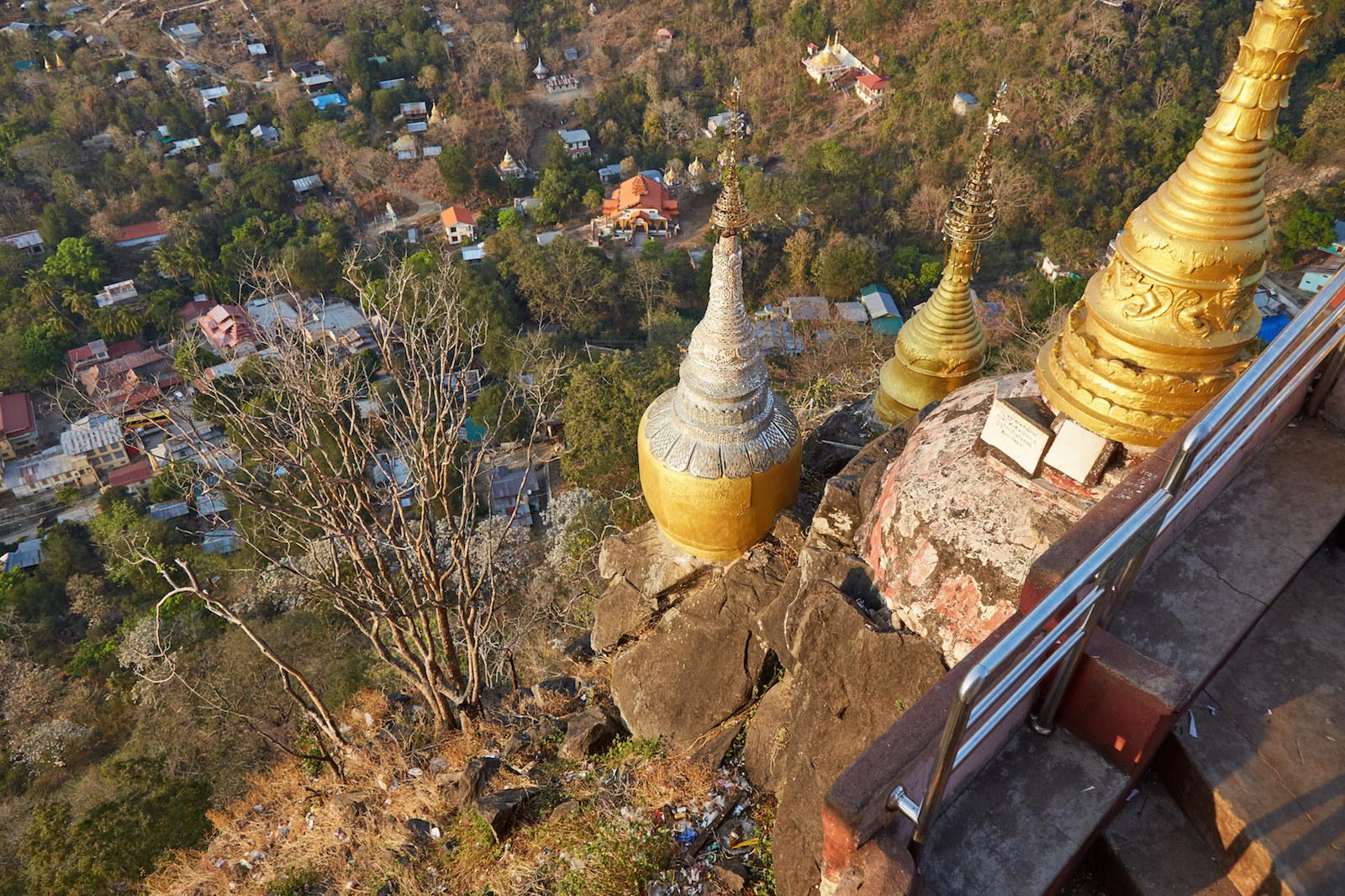 Climbing Mt. Popa: Myanmar's Mt. Olympus