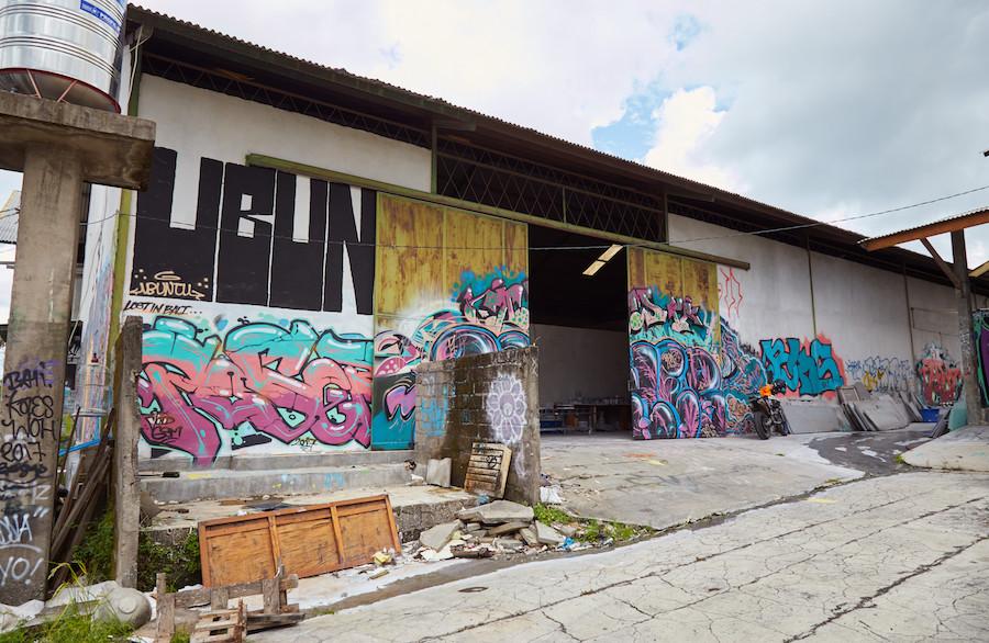 Bali Graffiti