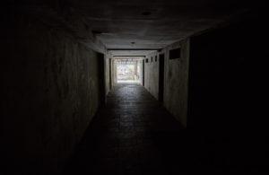 Ghost Palace Hotel Hallway