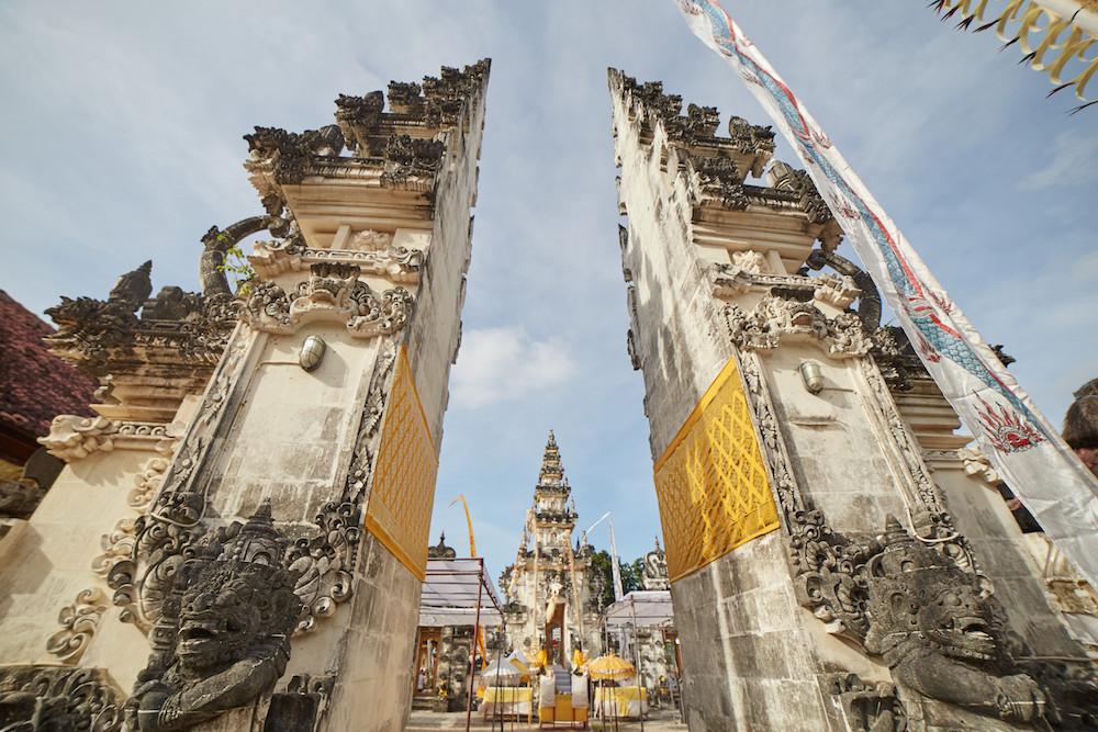 Balinese Temple Candi Bentar