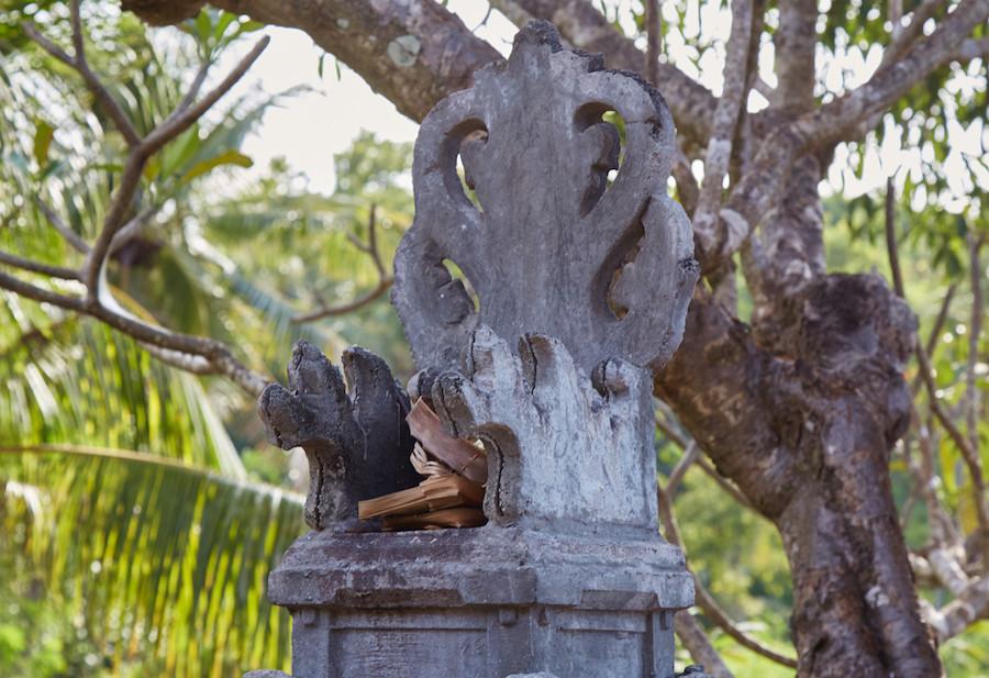 Balinese Temple Padmasana