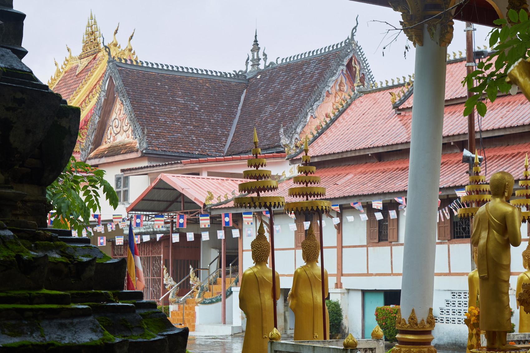 Wat Si Saket Courtyard