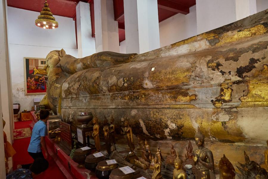 Ayutthaya Reclining Buddha